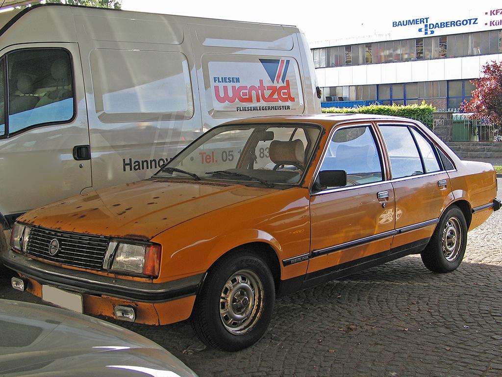 Opel Rekord E 1977 - 1986 Sedan #5