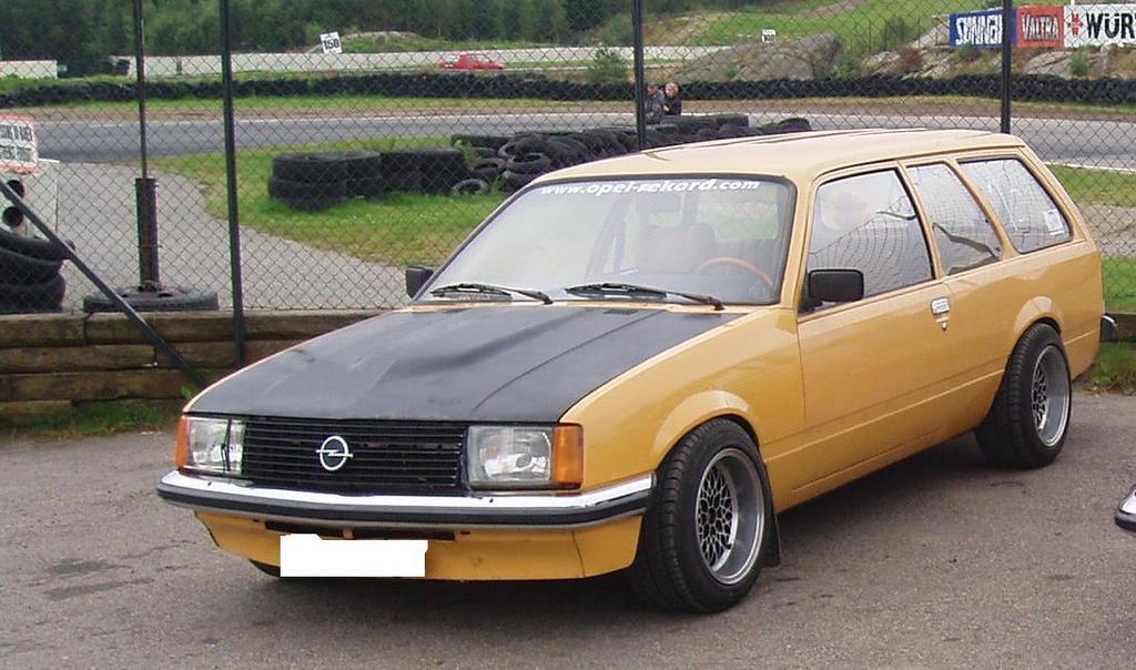 Opel Rekord E 1977 1986 Station Wagon 5 Door Outstanding Cars