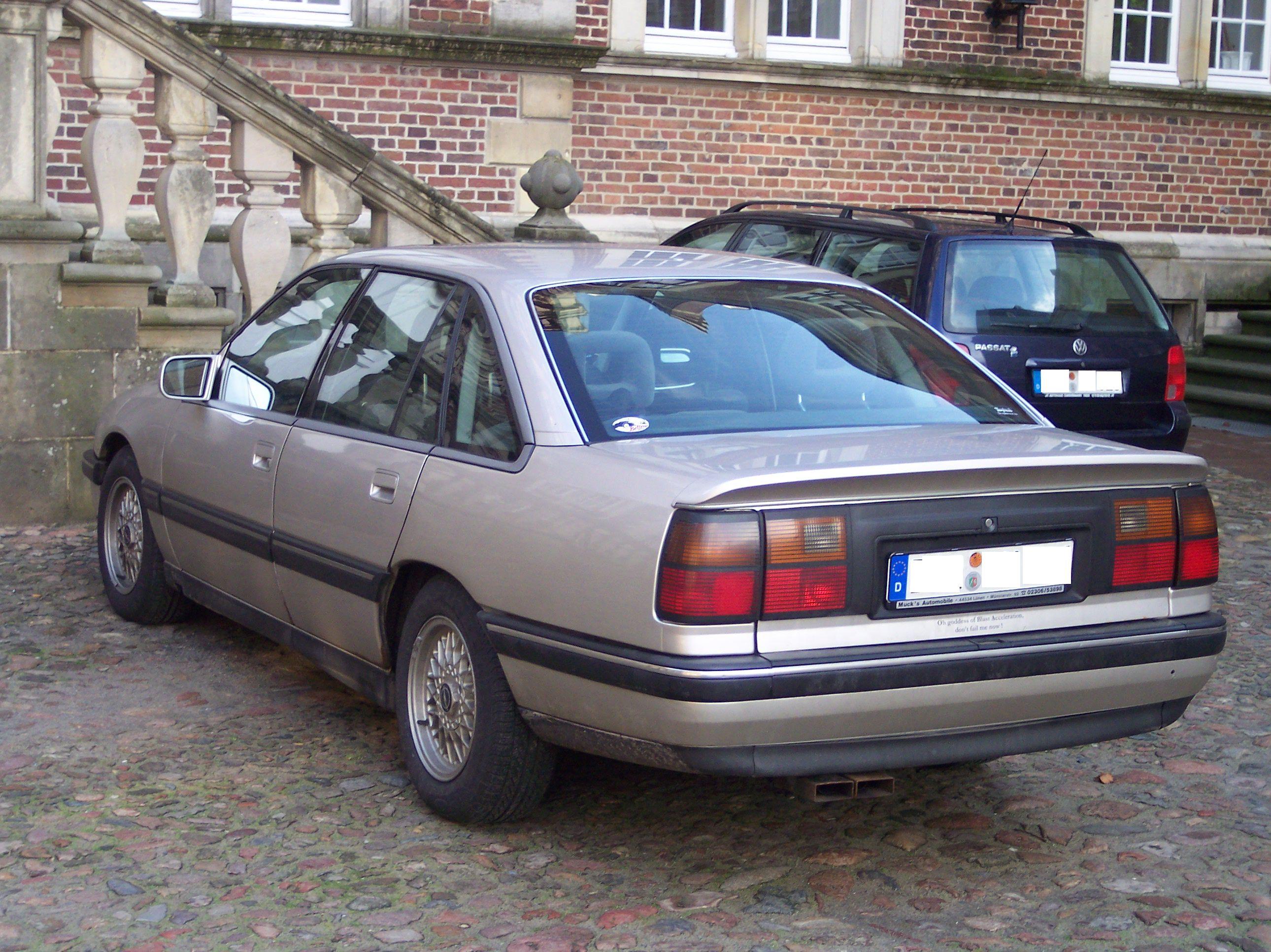 Opel Senator A 1978 - 1987 Sedan #4