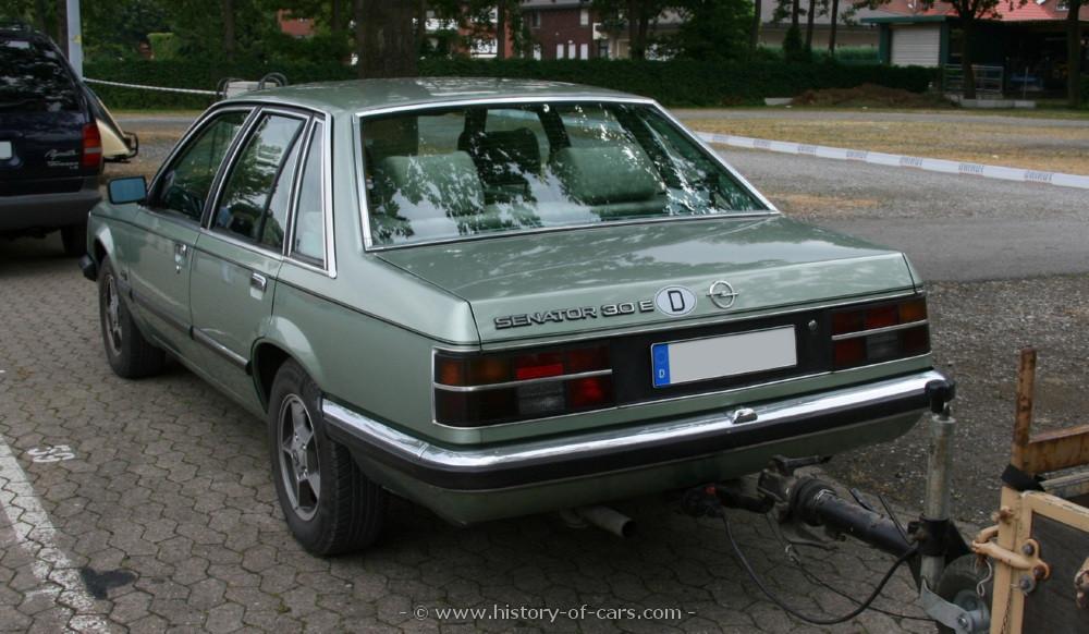 Opel Senator A 1978 - 1987 Sedan #1