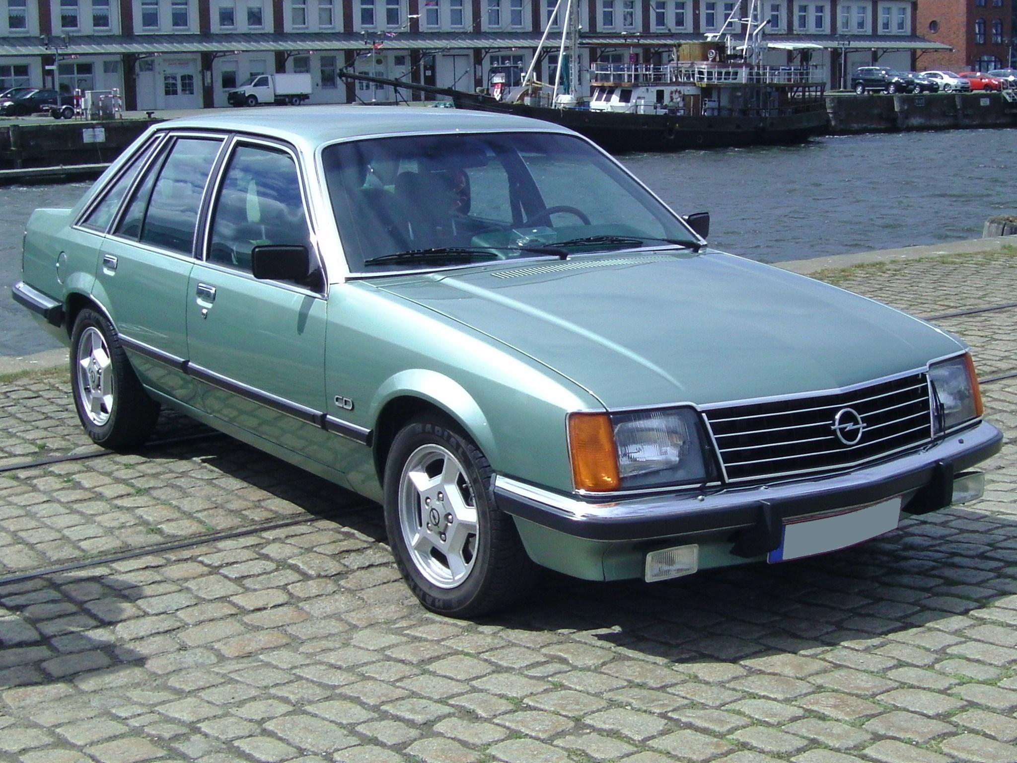 Opel Senator A 1978 - 1987 Sedan #6
