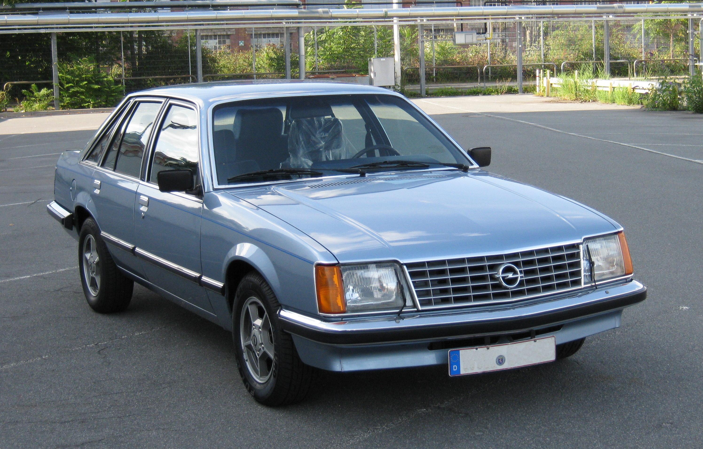 Opel Senator A 1978 1987 Sedan Outstanding Cars