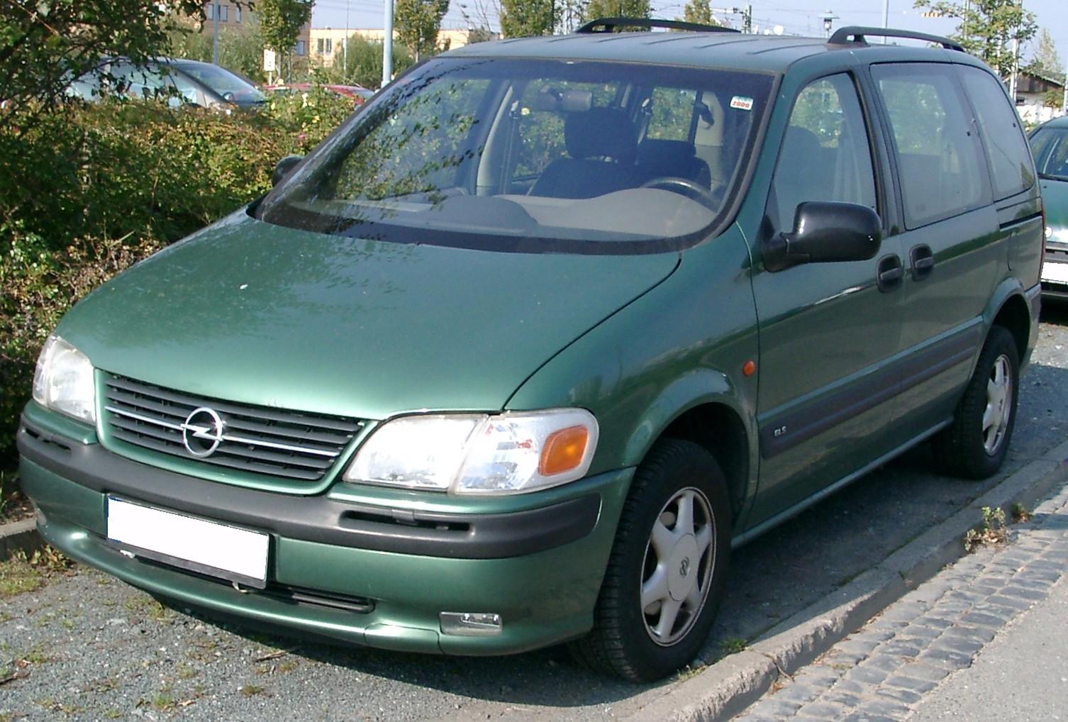 Opel Sintra 1996 - 1999 Minivan #6