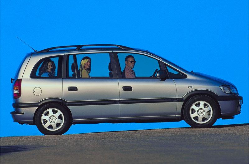 Opel Zafira A 1999 - 2002 Compact MPV #8