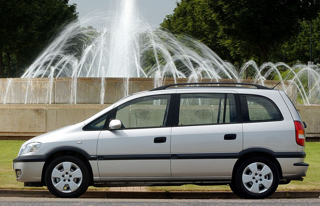 Opel Zafira A 1999 - 2002 Compact MPV #2