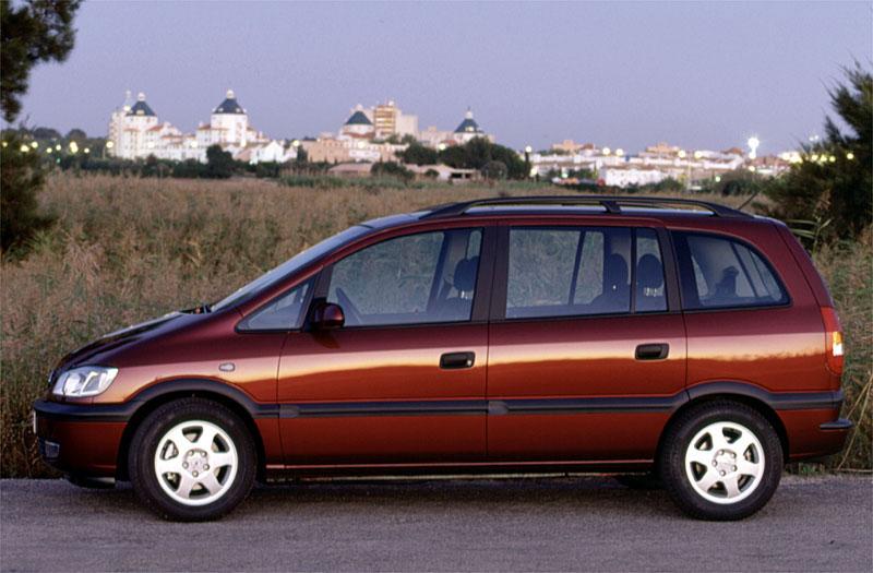 Opel Zafira A 1999 - 2002 Compact MPV #1
