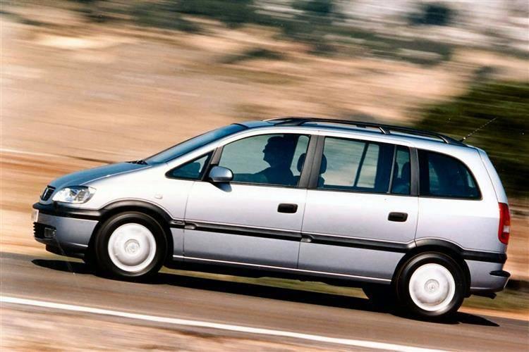 Opel Zafira A 1999 - 2002 Compact MPV #5