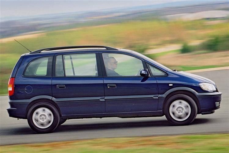 Opel Zafira A 1999 - 2002 Compact MPV #7