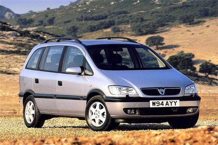 Opel Zafira A 1999 - 2002 Compact MPV #4
