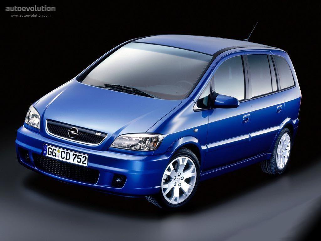 Opel Zafira OPC A 2001 - 2003 Compact MPV #7