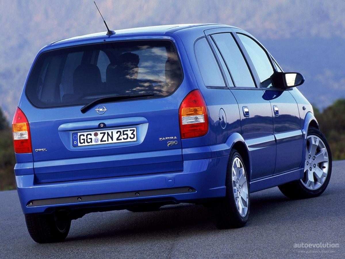 Opel Zafira OPC A Restyling 2003 - 2005 Compact MPV #3