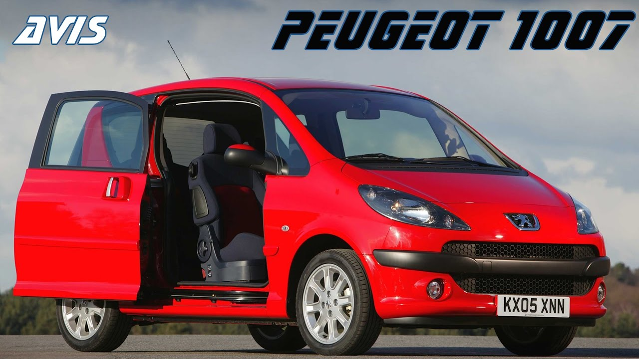 Peugeot 1007 2005 - 2009 Hatchback 3 door #7
