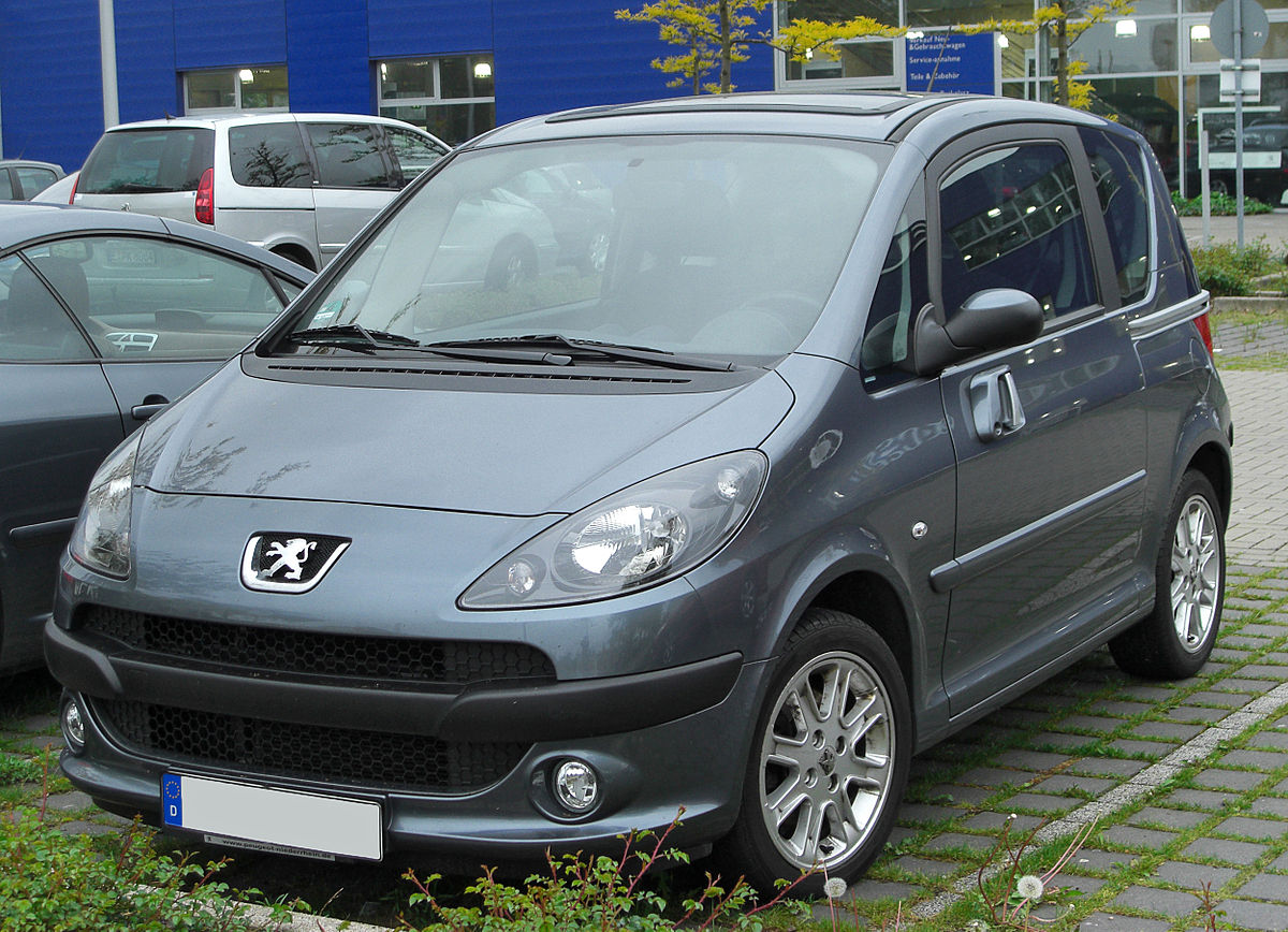 Peugeot 1007 2005 - 2009 Hatchback 3 door #8