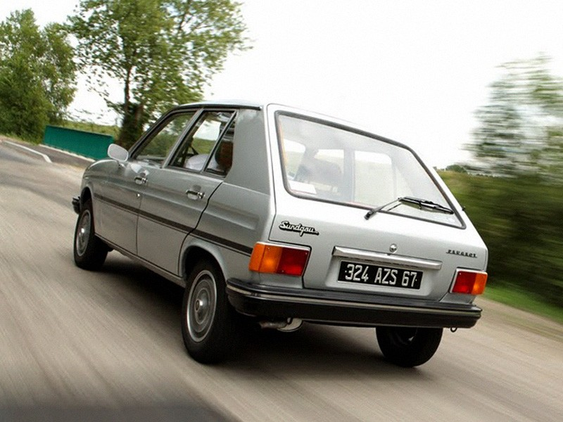Peugeot 104 1972 - 1988 Hatchback 3 door #2