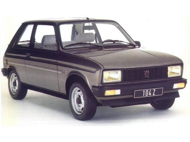 Peugeot 104 1972 - 1988 Hatchback 3 door #6