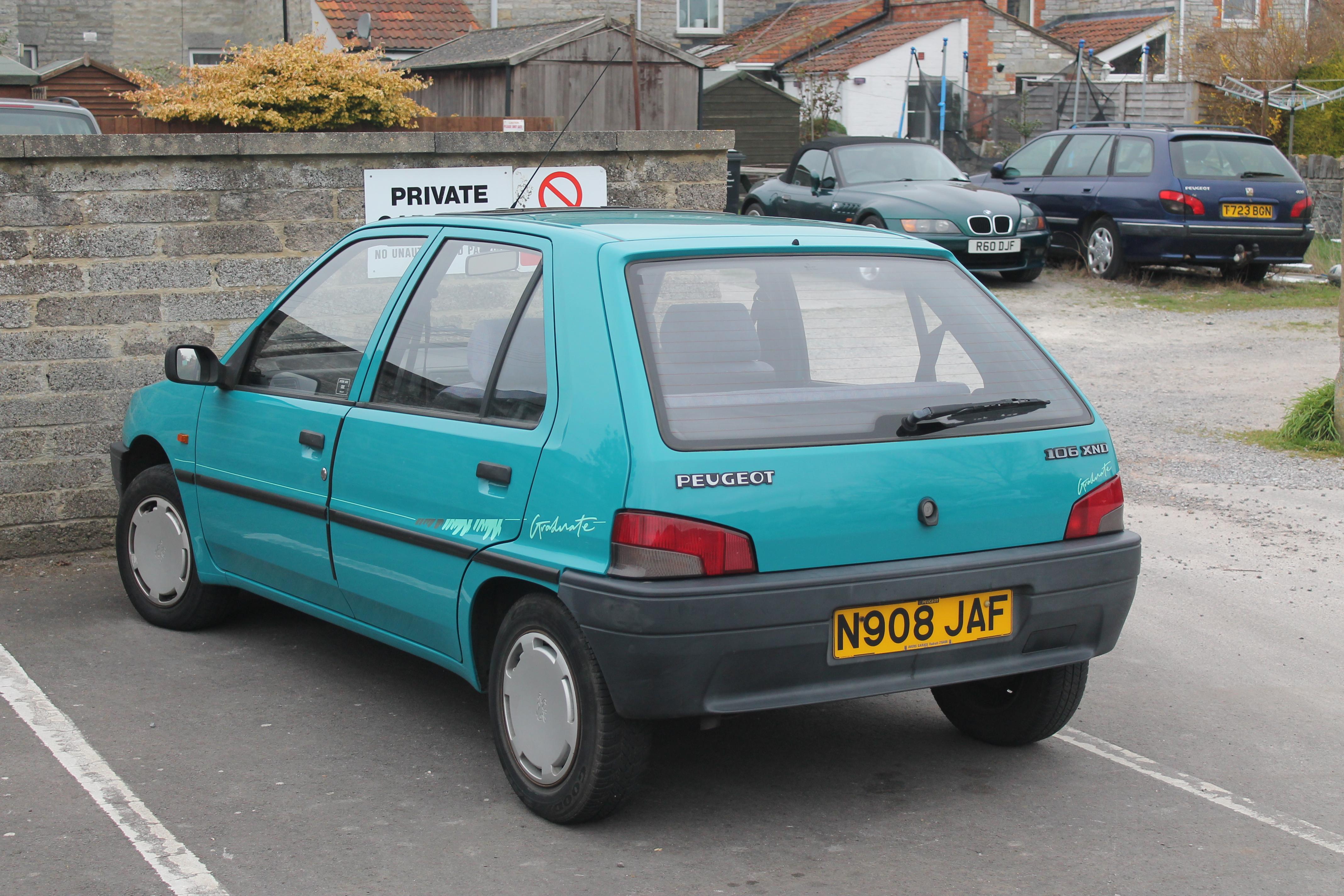 peugeot 106 i restyling 1996 2003 hatchback 3 door outstanding cars rh carsot com Peugeot 206 Peugeot 107