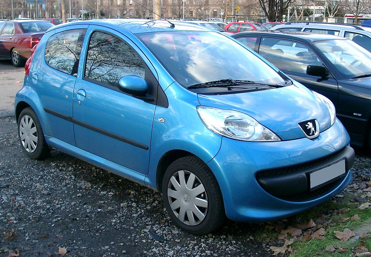 Peugeot 107 I Restyling 2009 - 2012 Hatchback 5 door :: OUTSTANDING CARS