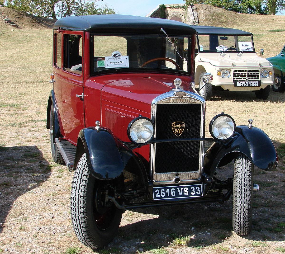 Peugeot 201 1929 - 1937 Cabriolet #7