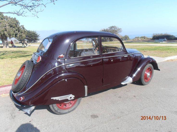 Peugeot 202 1938 - 1948 Sedan #1