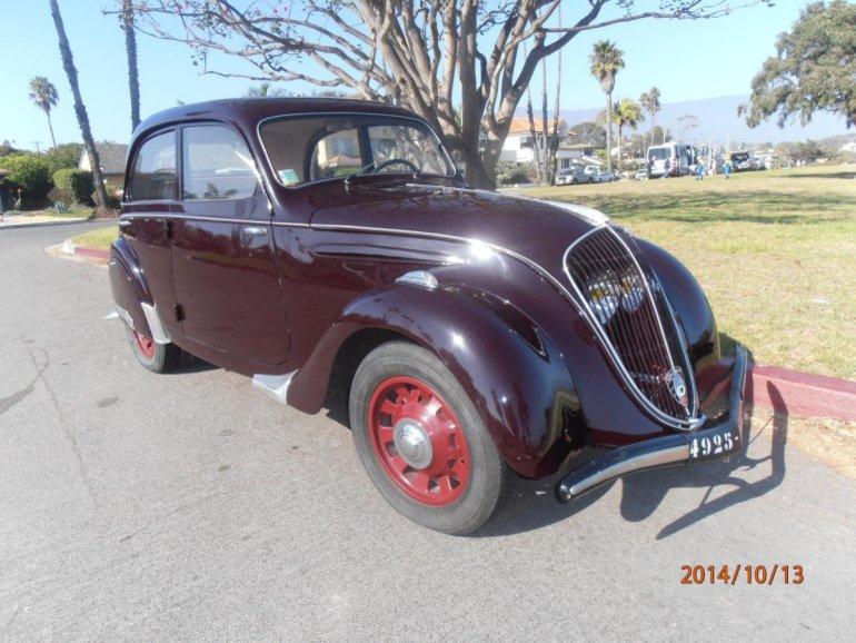 Peugeot 202 1938 - 1948 Sedan #3