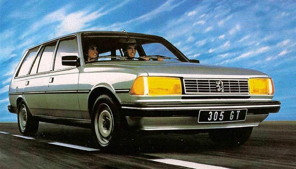Peugeot 305 1977 - 1990 Sedan #2