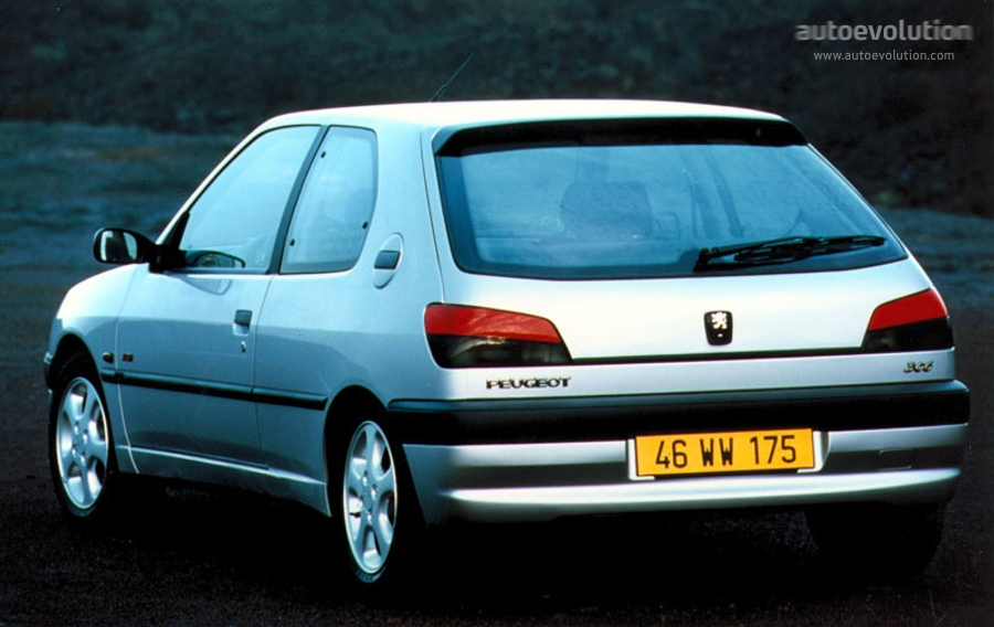 Peugeot 306 1993 - 2002 Hatchback 3 door #1