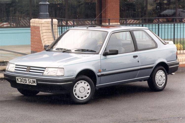 Peugeot 309 I Restyling 1989 - 1993 Hatchback 3 door #6