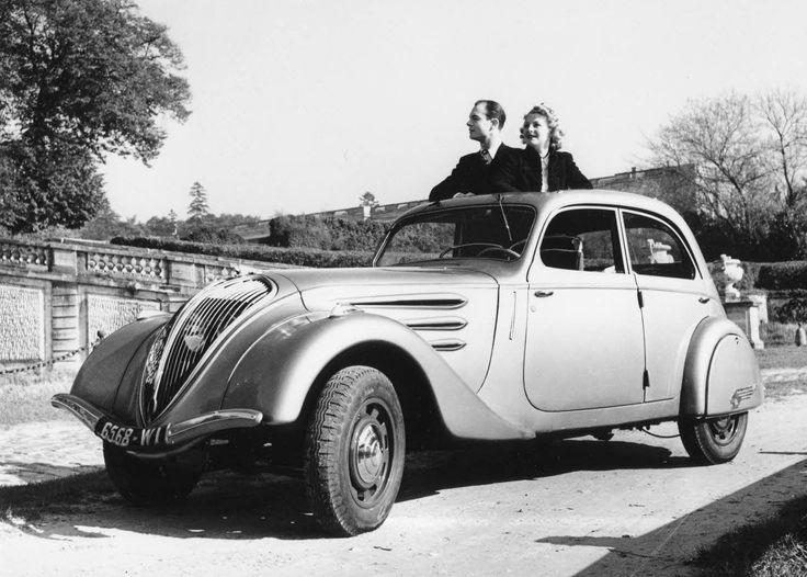 Peugeot 402 1935 - 1942 Sedan #4