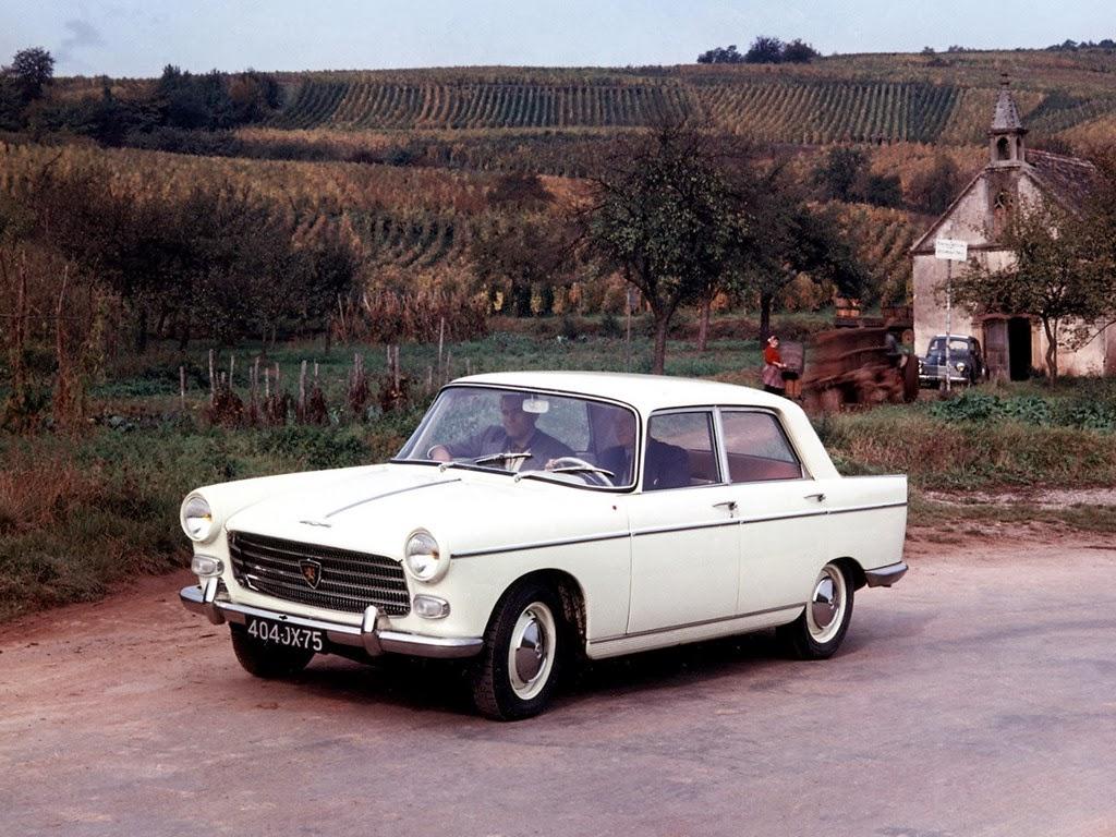 Peugeot 404 1960 - 1975 Sedan #4