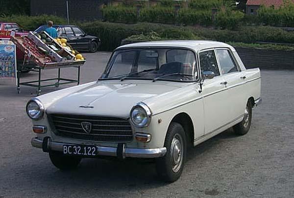 Peugeot 404 1960 - 1975 Sedan #8