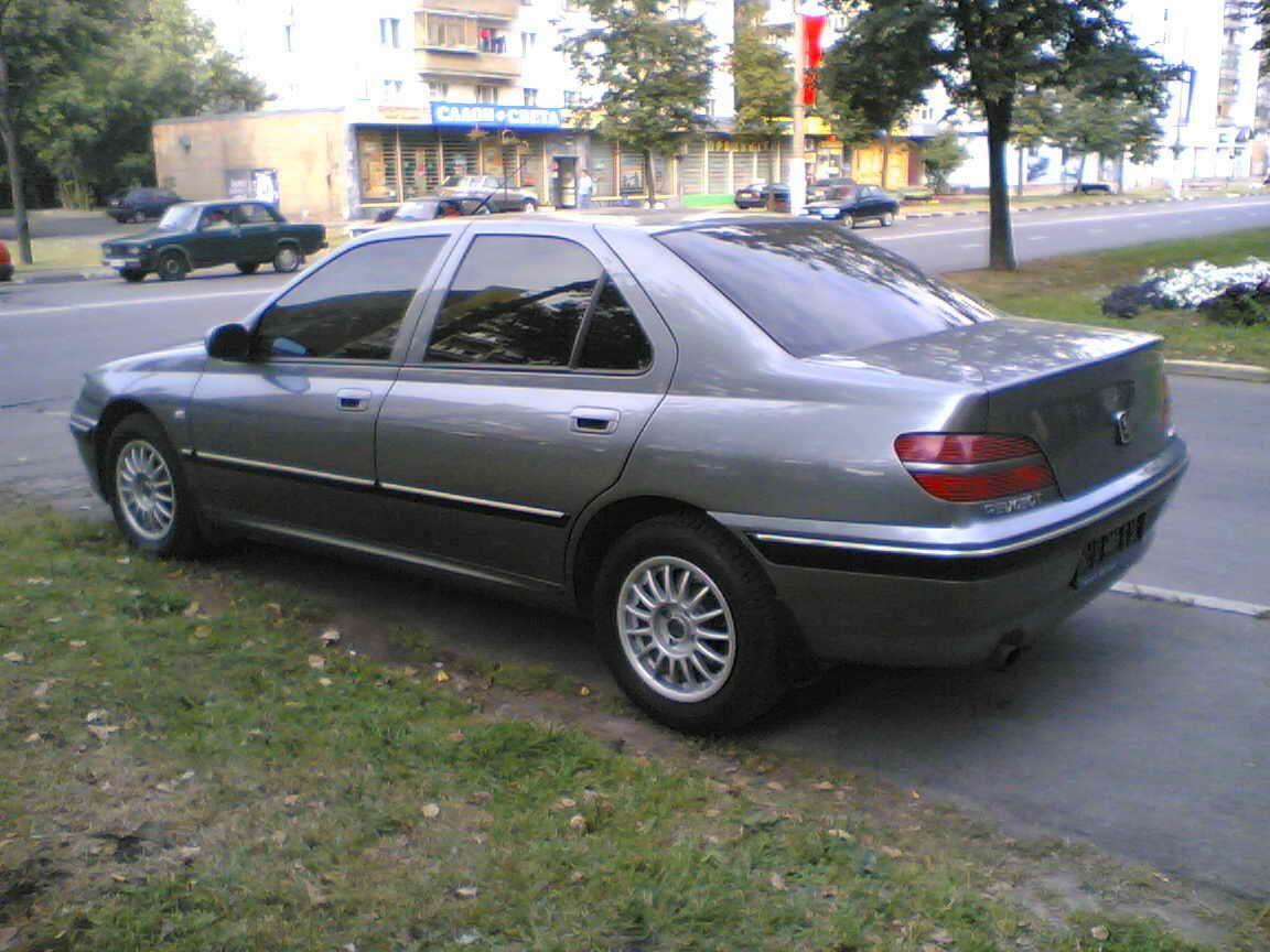 Peugeot 406 1995 - 2003 Sedan :: OUTSTANDING CARS