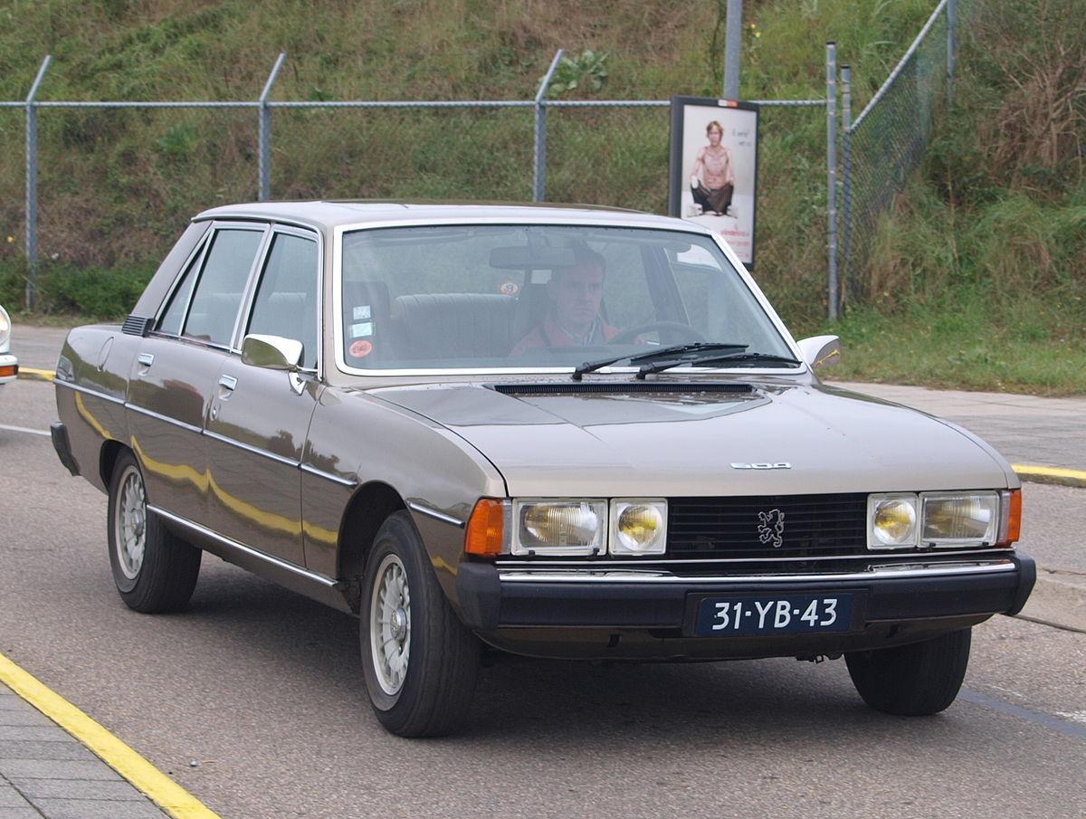 Peugeot 604 1975 - 1986 Sedan #8