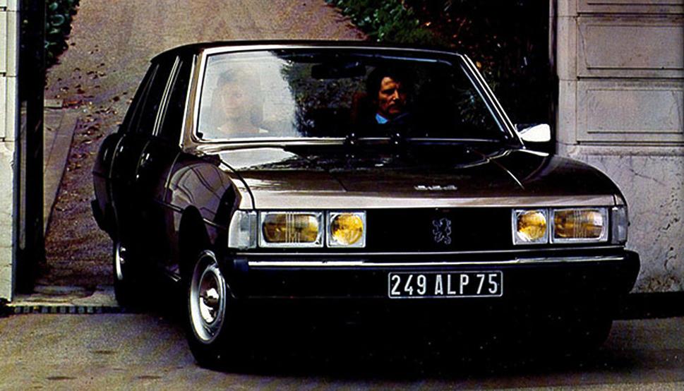 Peugeot 604 1975 - 1986 Sedan #6