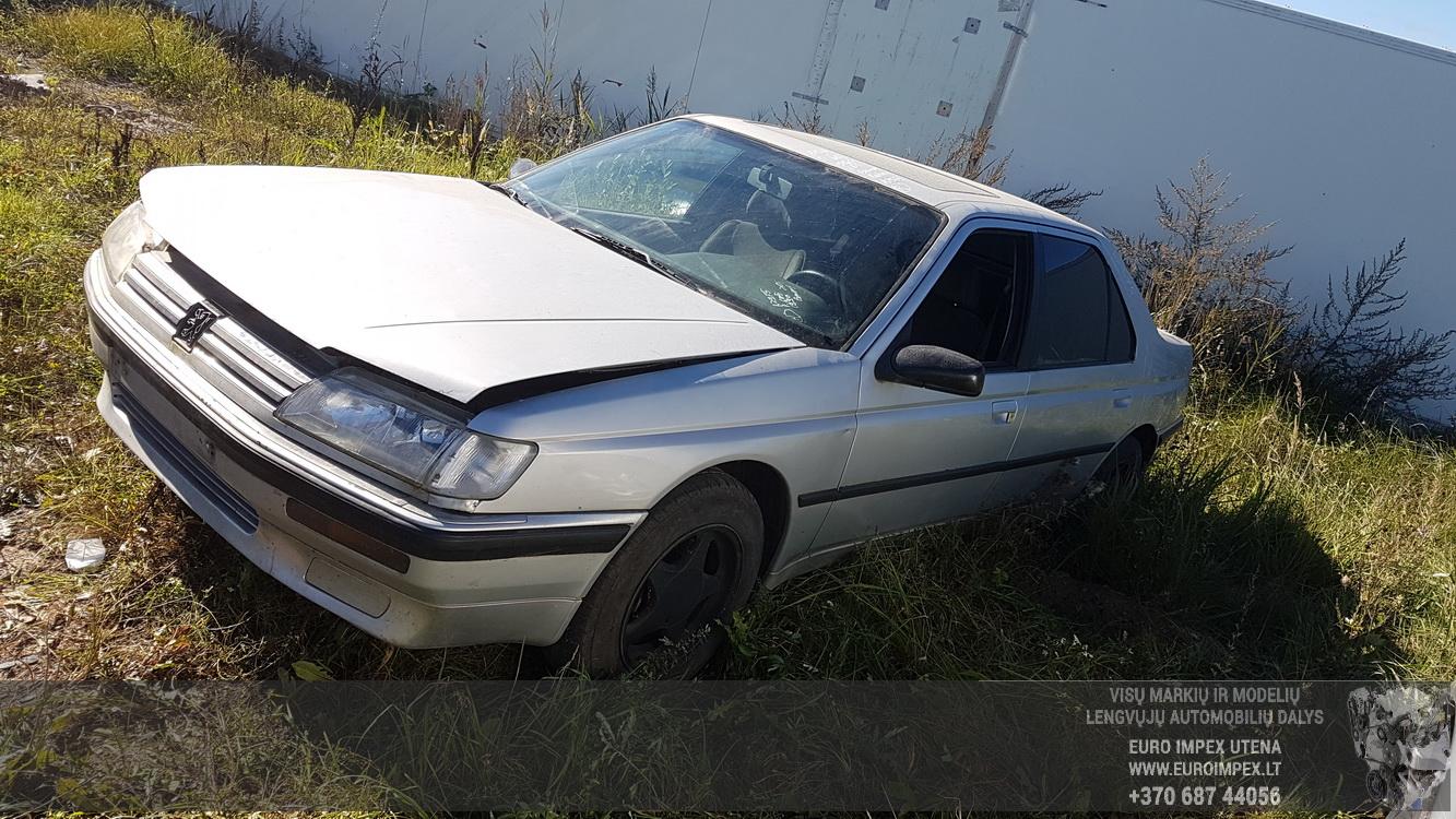 Peugeot 605 1989 - 1999 Sedan #2