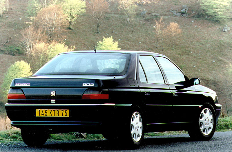 Peugeot 605 1989 - 1999 Sedan #4