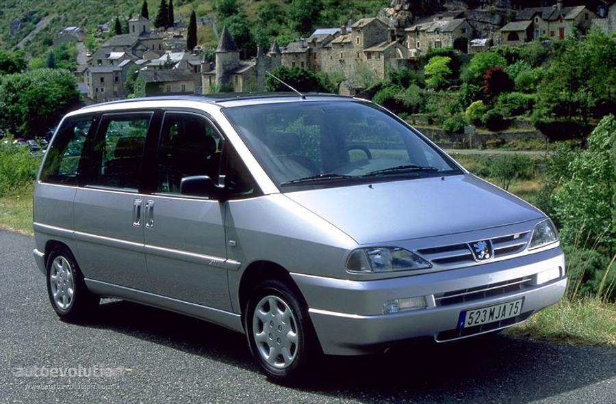 Peugeot 806 I Restyling 1998 - 2002 Minivan :: OUTSTANDING CARS