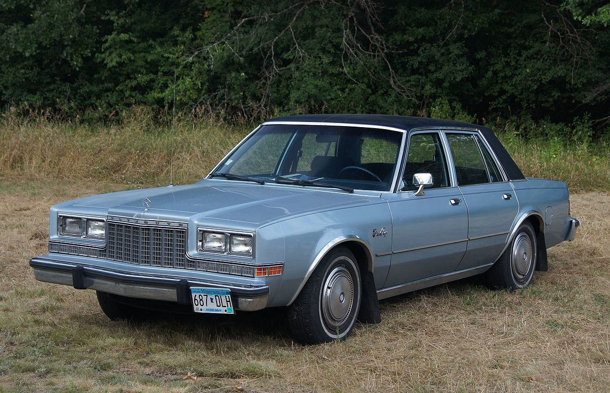 Plymouth Caravelle 1983 - 1988 Sedan #6