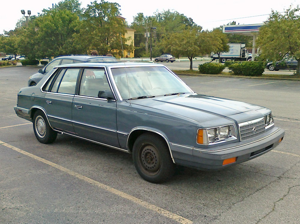 Plymouth Caravelle 1983 - 1988 Sedan #4