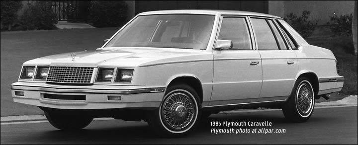 Plymouth Caravelle 1983 - 1988 Sedan #7