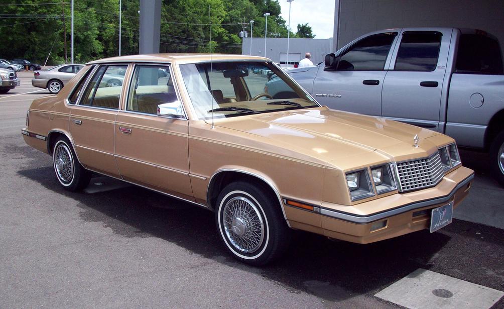 Plymouth Caravelle 1983 - 1988 Sedan #5