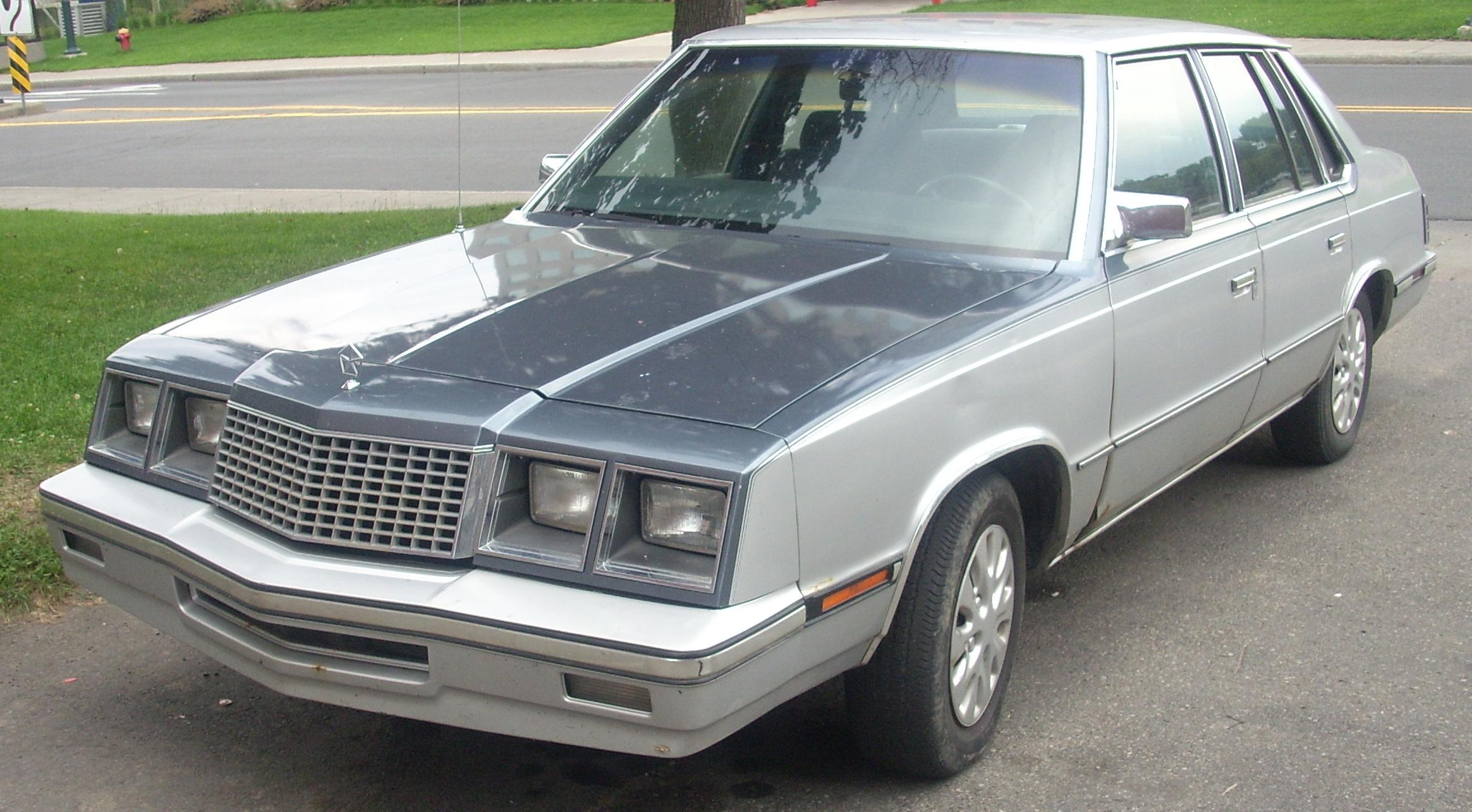 Plymouth Caravelle 1983 - 1988 Sedan #2