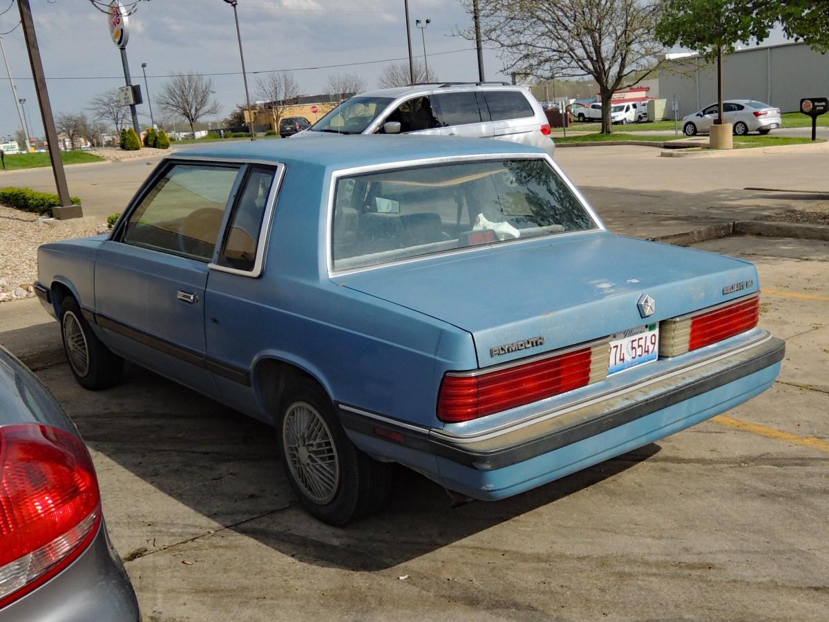 Plymouth Reliant I 1981 - 1989 Sedan 2 door #5 & Plymouth Reliant I 1981 - 1989 Sedan 2 door :: OUTSTANDING CARS