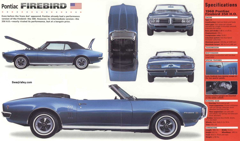 Pontiac Firebird I 1967 - 1969 Coupe-Hardtop #1