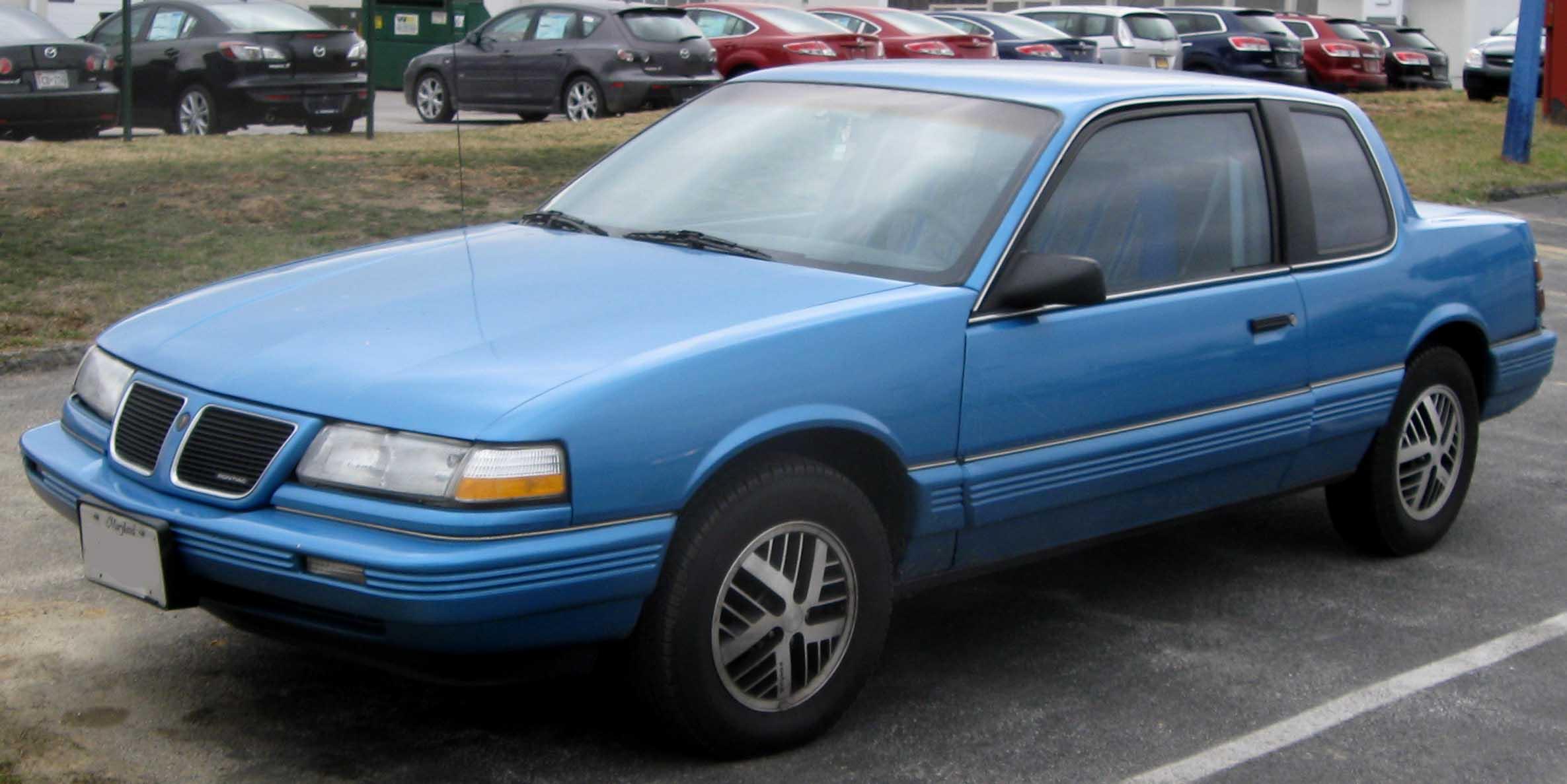 Pontiac Grand AM III 1984 - 1991 Coupe #7