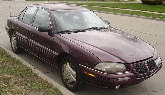 Pontiac Grand AM IV 1992 - 1998 Sedan #3