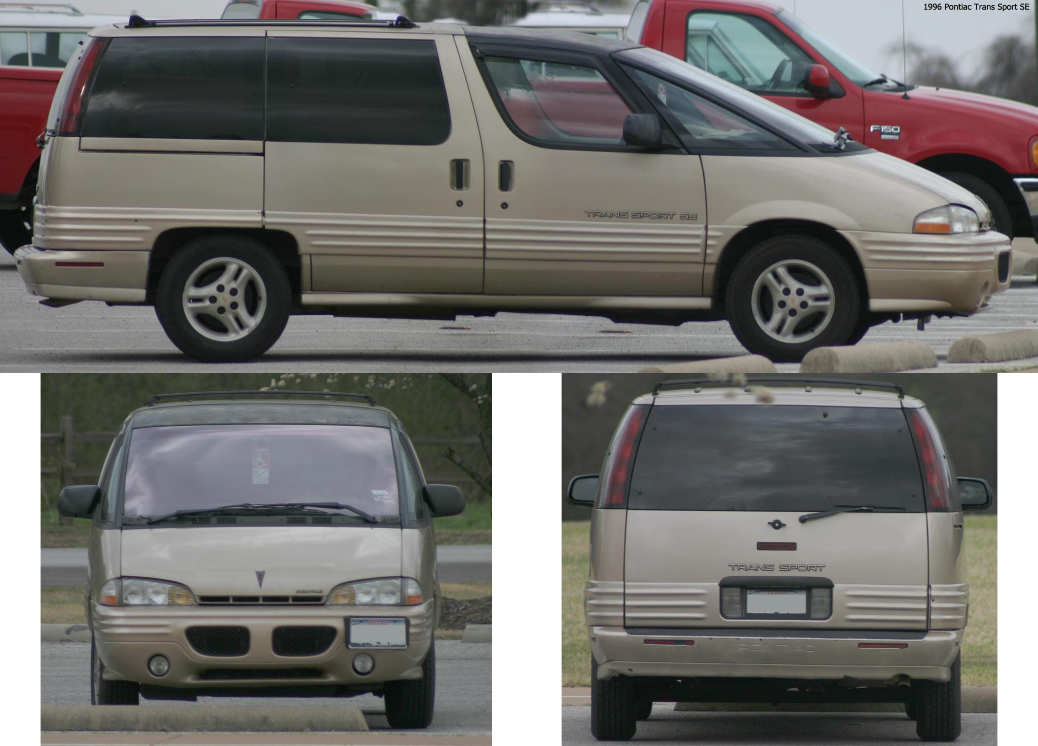 Pontiac Trans Sport I 1989 - 1996 Minivan #6