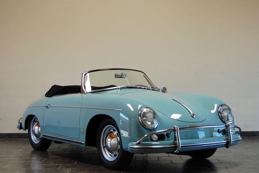 Porsche 356 II (A) 1955 - 1959 Cabriolet :: OUTSTANDING CARS
