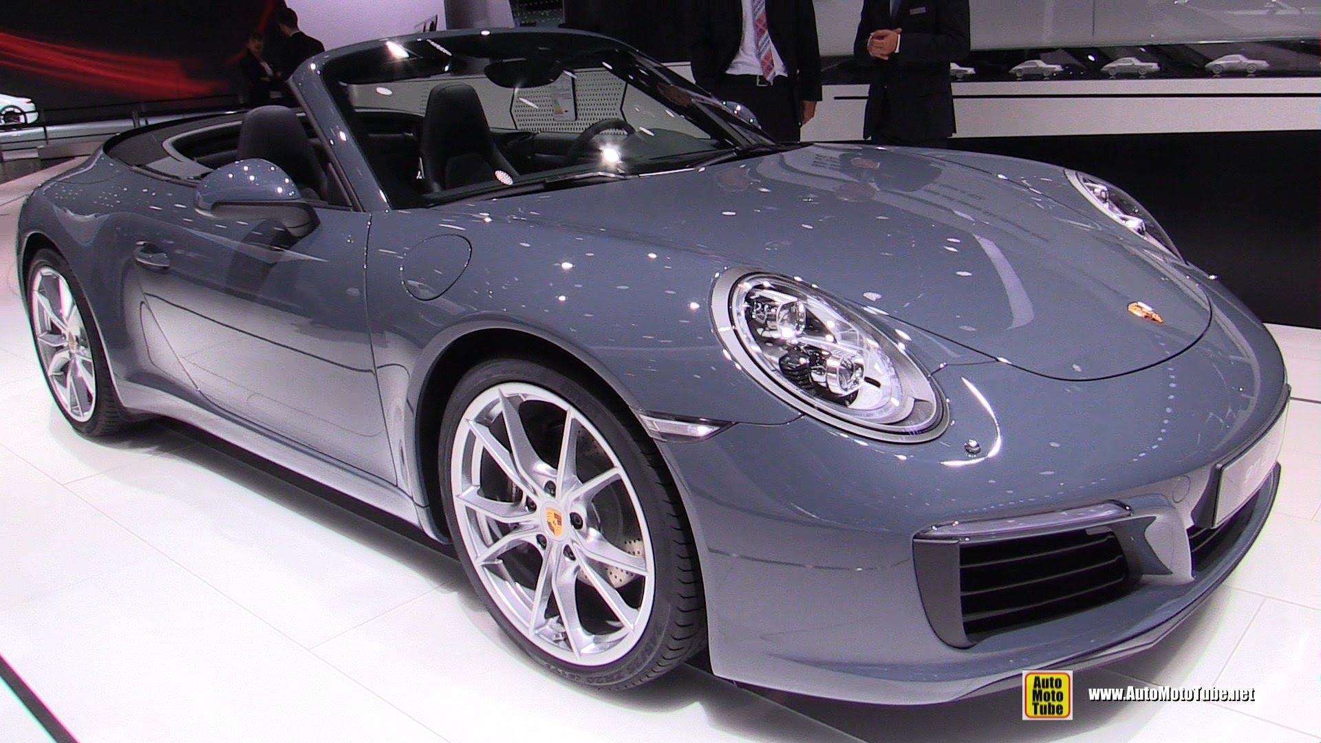 Porsche 911 VII (991) Restyling 2015 - now Cabriolet #5