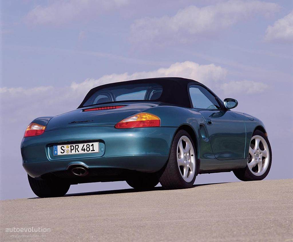 Porsche Boxster I (986) 1996 - 2002 Roadster #2