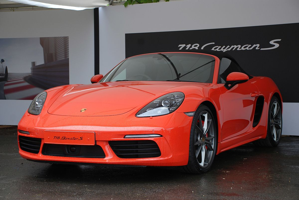 Porsche Boxster II (987) Restyling 1 2006 - 2009 Roadster #7